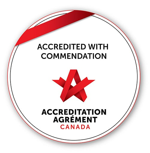 accredited with commendation - ACCREDITATION AGRÉMENT CANADA