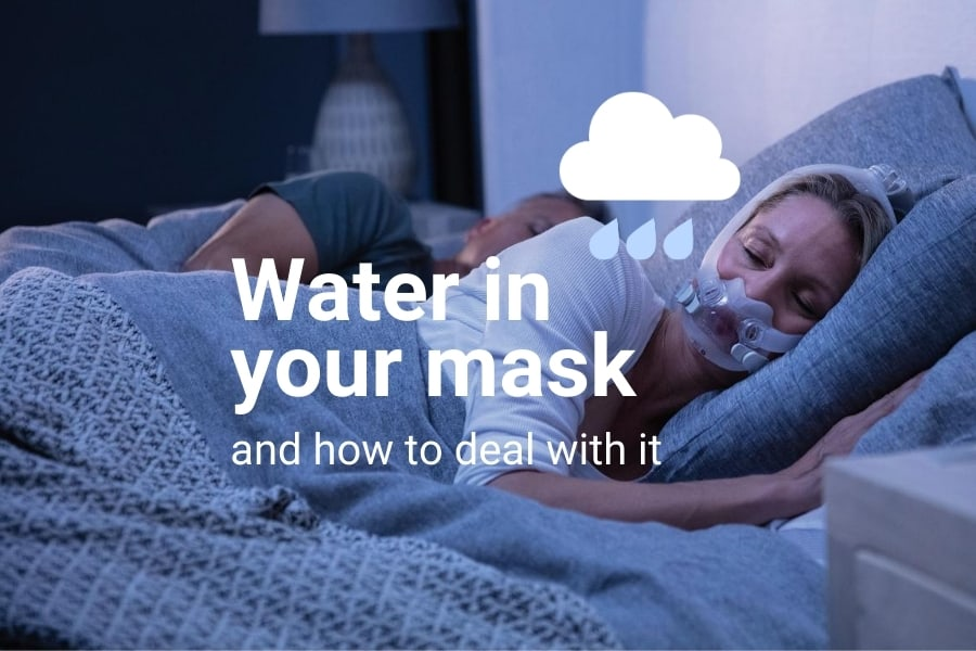 water in your mask and how to deal with it