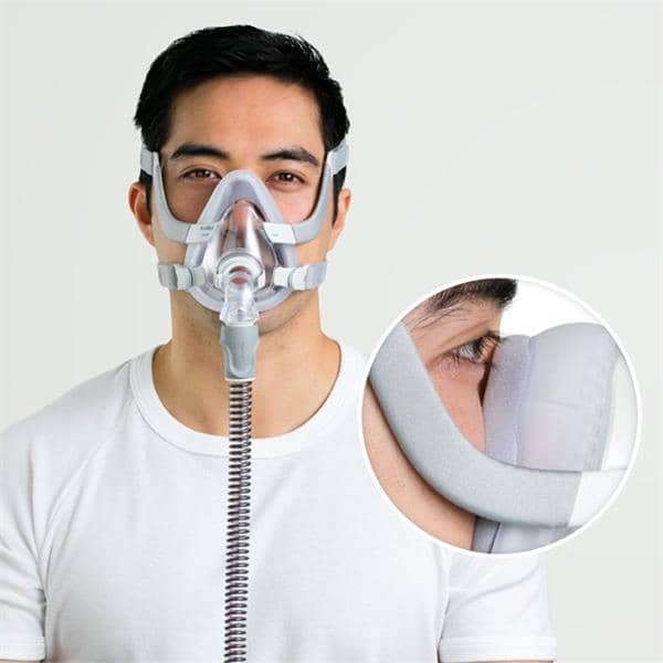 man wearing airtouch f20 mask