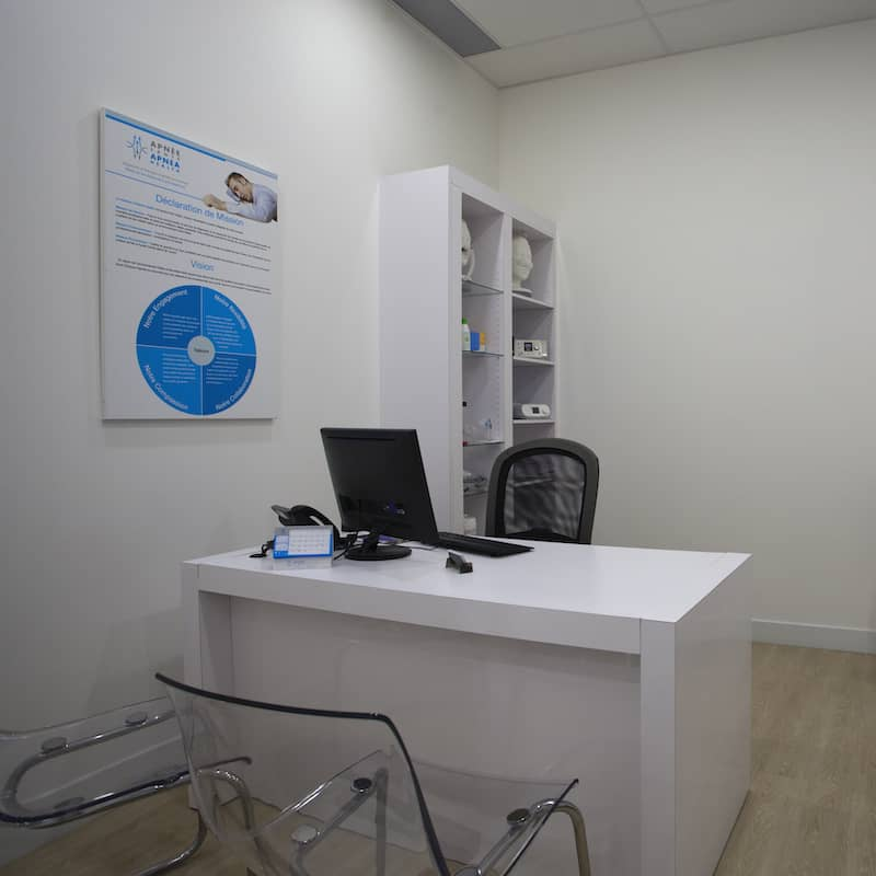 Office in Delson clinic