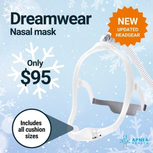 Dreamwear nasal mask - only 95$