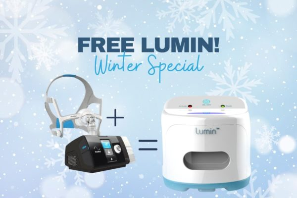 Buy a cpap and mask and get a lumin for free