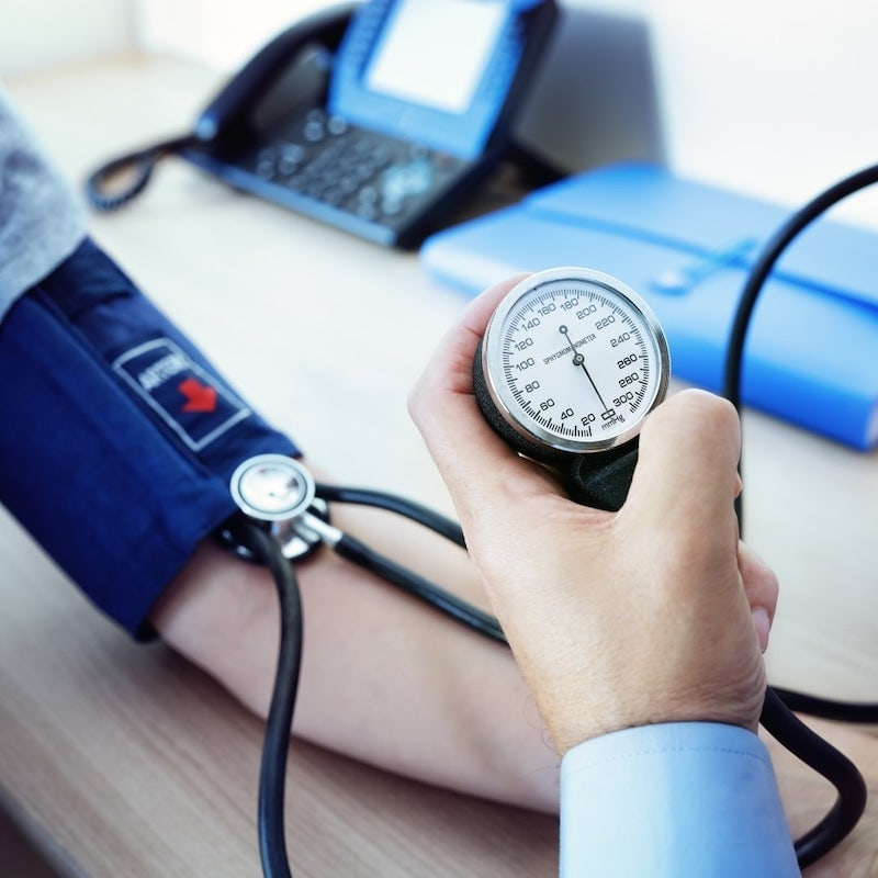high blood pressure test