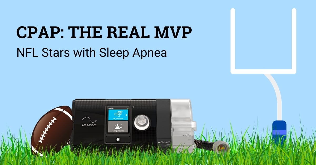 CPAP: the REAL MVP. NFL stars with sleep apnea