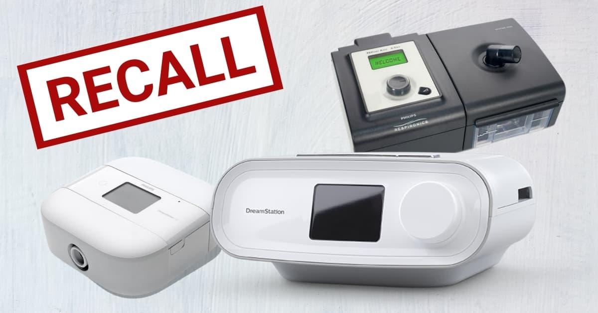 Philips respironics recall on CPAP and BPAP machines