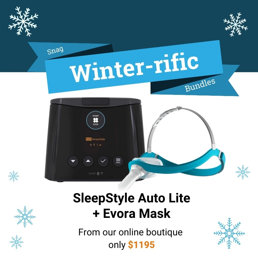 Deal for a SleepStyle Auto Lite CPAP and Evora mask